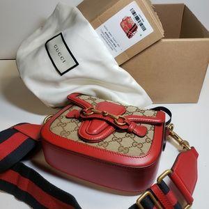 HOST PICK * Gucci Lady Web Horsebit Bag